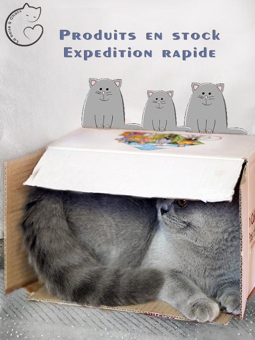 La Boîte à Chats expédition rapide